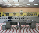 Lindoso power station: control room (frontal view), 2012 © Edgar Martins