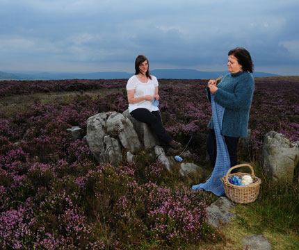 Welsh Landscape with Claire & Jenny, Blaenavon, 2011 © Alicia Bruce